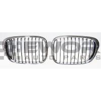 Atrapa / nerki / grill BMW E39 00-04 (Zamiennik - 51137005838, 51137005837)