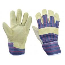 Rękawice robocze ze skóry bydlęcej r. 10,5