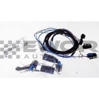 Zestaw przewodów/wiązka kierownicy wielofunkcyjnej / multifunkcyjnej, dedykowany do Serii 3 E46 (BMW Oryginał - 61120016012)