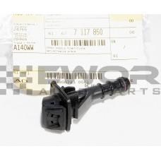 Dysza spryskiwacza reflektora E87 lewa (BMW Oryginał - 61677117849)