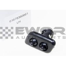 Dysza spryskiwacza reflektora lewa BMW 5 E39 (Zamiennik - 61678360661)