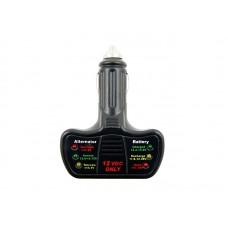 Tester akumulatora i alternatora 12V
