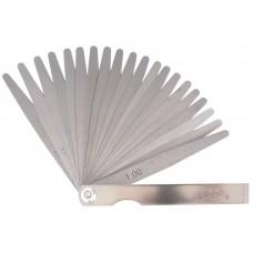 Szczelinomierz 0,05-1,00mm, 20 listków