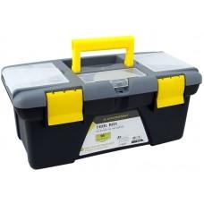 """Skrzynka narzędziowa 14"""" (35,6x18x15,3 cm) z organizerami w pokrywie"""