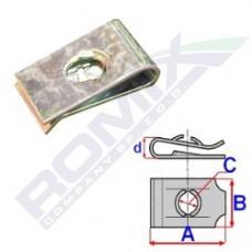 Blaszka montażowa BMW / FORD 16035 ROMIX (7129925727, 1450293)