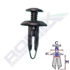 Kołek rozporowy FORD 58211Z ROMIX (1007932)