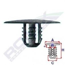 Spinka wyciszenia pokrywy silnika FORD A15749 ROMIX (6678518)