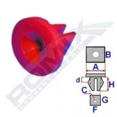 Spinka osłony silnika FORD A82020 ROMIX (1019377)