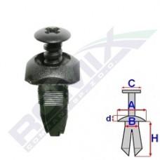 Kołek rozporowy FORD B22156 ROMIX