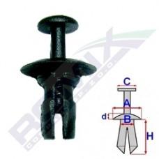 Kołek rozporowy C30128 ROMIX (51218205295)