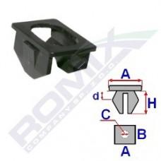 Gniazdo montażowe C60383 ROMIX (51711916199)