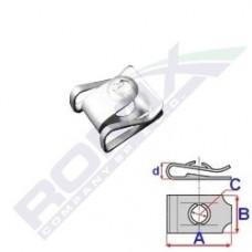 Blaszka montażowa BMW C60630 ROMIX (7146981767)