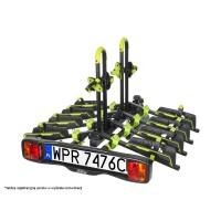 Bagażnik na hak / platforma rowerowa Inter Pack SPIDER 4 rowery SKŁADANY