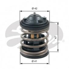 Termostat płynu chłodzącego BMW E60N, E61N, E70N, E71, E81, E82, E83N, E84, E87N, E88, E90, F01, F02 2,5-3,5 D (GATES-TH47487G1)
