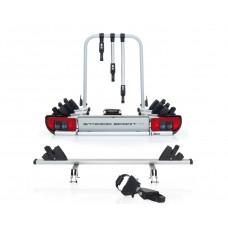 Platforma na hak do przewozu 4 rowerów Atera Strada Sport M3 z adapterem