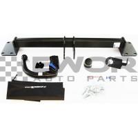 Hak holowniczy wypinany BMW X5 E70 F15 (Steinhof-B-061)