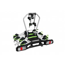 Platforma / bagażnik / uchwyt rowerowy - mocowany na hak do przewozu 4 rowerów