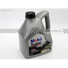 Olej półsyntetyczny MOBIL Super 2000 X1 Diesel 10W40 4 Litry