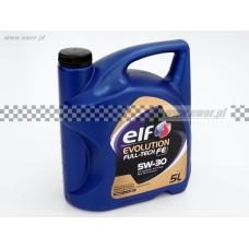 Olej syntetyczny ELF EVOLUTION Full-Tech FE 5W30 5l