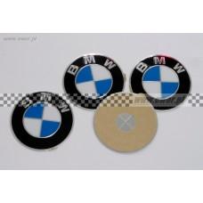 Emblemat logo BMW na kapsle do felg (BMW oryginał-36136767550)
