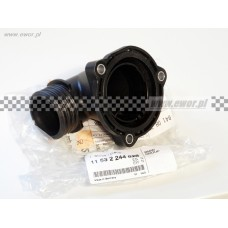 Końcówka przyłączeniowa - króciec układu chłodzenia E34 E36 E38 E39 (BMW oryginał-11532244828)