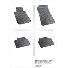 Dywaniki podłogowe BMW SERIA 1, X1 FROGUM-0662
