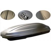 Box dachowy INTER PACK-Box Stella 480 srebrny kevlar