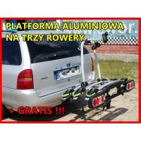 CARRIER PLATFORMA D3 - platforma rowerowa na hak