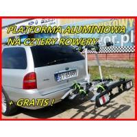 CARRIER PLATFORMA D4 - platforma rowerowa na hak