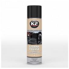 K2 lakier akrylowy czarny połysk 500ml 037887