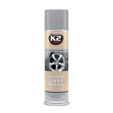 K2 srebrny lakier do felg 500ml 037888