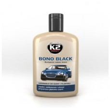 K2 bono black czernidło do plastiku 200ml 037839