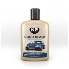 K2 bono black czernidło do plastiku 200ml 037839