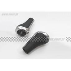 Gałka uchwyt dźwigni zmiany biegów E60 E61 E87 E88 E90 E91 Zamiennik-25117529251