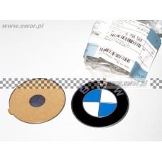 Emblemat logo BMW na kapsle do felg BMW oryginał-36136758569