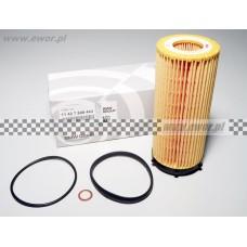 Filtr oleju E90 E91 E92 F01 F02 F10 F11 (BMW oryginał-11427808443)