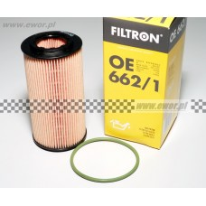 Filtr oleju FORD FOCUS, MONDEO, KUGA, GALAXY, S-MAX 2.5 Duratec - VCT Turbo (FILTRON-OE662/1)