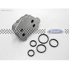 Chłodnica oleju Fiesta, C-Max, Focus MK II, Fusion, 1.4 / 1.6 TDCi (Zamiennik-1145941, 2S6Q-6A642-AA)