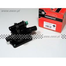 Termostat cieczy chłodzącej z obudową FOCUS MK II, C-MAX, FIESTA, FUSION - 1.6 TDCi (GATES-TH41183G1)