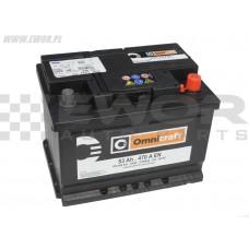 Akumulator rozruchowy 53Ah 470A 12V Omnicraft 2130436 - 553400047