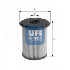 Filtr paliwa Focus MK II, Focus C-Max, C-Max, Mondeo IV, S-Max, Galaxy - 1.8 TDCi (UFI-26.696.00)