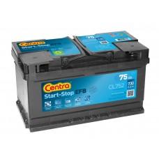 Akumulator rozruchowy CENTRA Start-Stop EFB CL752 12V 75Ah 730A P+