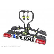 Bagażnik na hak / platforma rowerowa Inter Pack Spider 2E e-bike - 2 rowery SKŁADANY