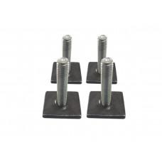 Wsuwki do belek aluminiowych 31 mm - kpl 4 szt.